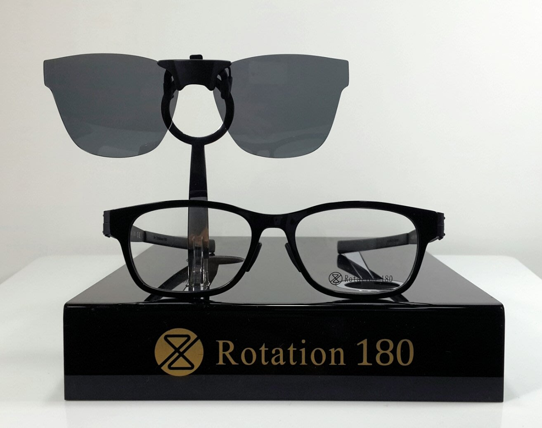 Rotation 磁吸夾片太陽眼鏡(RT-07-方形)  / 偏光鏡(厚度1.0mm)高質量 / 2020最新專利設計
