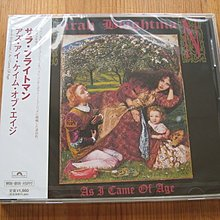 日版全新CD~莎拉布萊曼Sarah Brightman: 走過歲月/AS I CAME OF AGE (1990)
