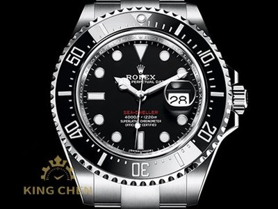 【金宸名錶】Rolex 勞力士 Sea-Dweller 126600 MK1 單紅 無皇冠版 蠔式 AS004