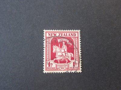 【雲品】紐西蘭New Zealand 1934 Sc B7 FU 庫號#78142