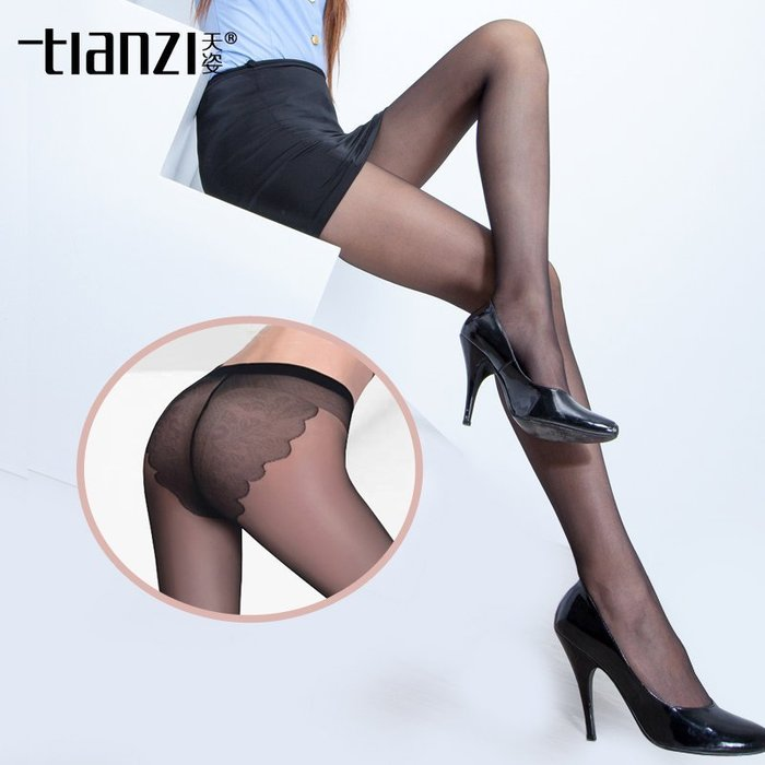 MIX style SHOP【S-011】tlanzl品牌❤薄透感6D比基尼蝴蝶棉襠透明無痕防勾彈性褲襪絲襪~(7色)