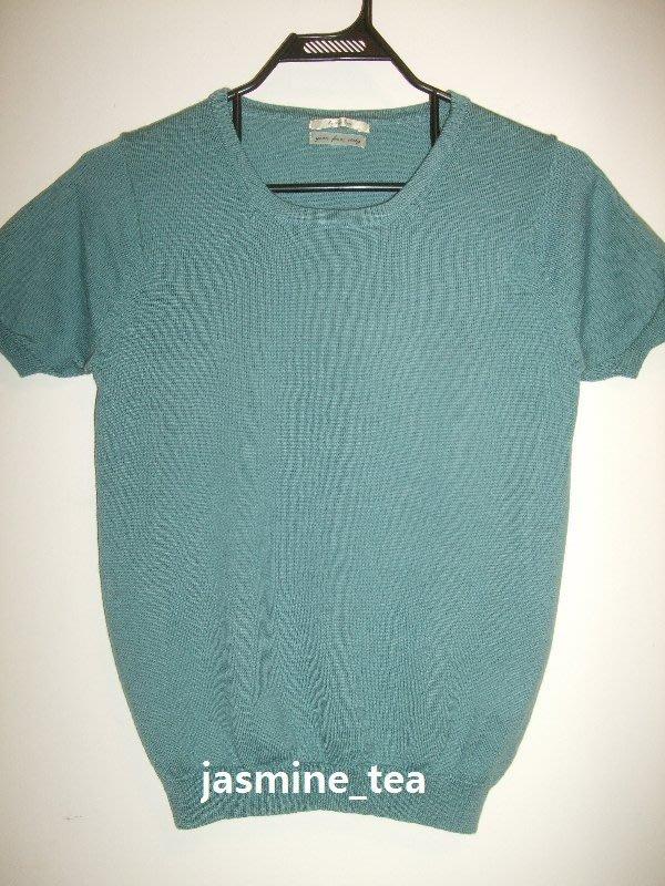 I-251/USED<日本Spick and Span 短袖毛質針織衫>