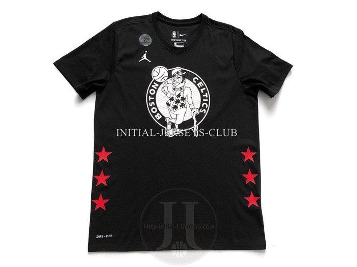 NBA2019全明星賽球衣塞爾堤克隊 Kyrie Irving 歐文  黑色T恤