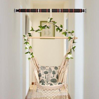 吊床撐桿室內家用單杠門上引體向上訓錬健身牆體免打孔健身器材 台北日光