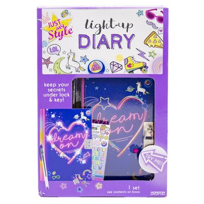 My Style Light-Up Diary Kit 我的日記