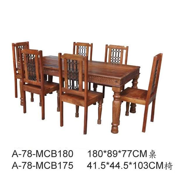 歐閣村傢俱傢飾*簡約風餐桌 美式鄉村風餐桌 工業風餐桌 180cm北歐鄉村風餐桌 loft餐桌 鐵腳 現代餐桌