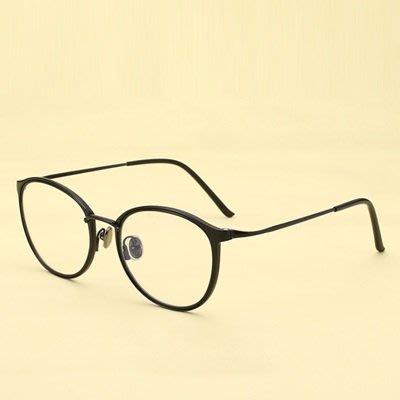 眼鏡 框 橢圓框 鏡架-學院風文藝氣質時尚男女平光眼鏡6色73oe25[獨家進口][米蘭精品]