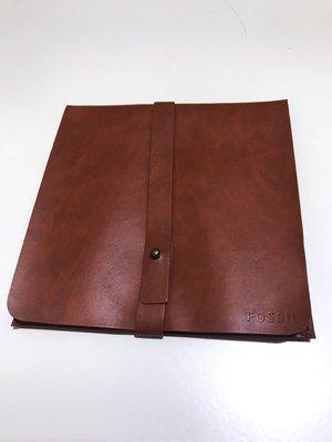 FOSSIL 真皮皮革高質感收納包,全新商品