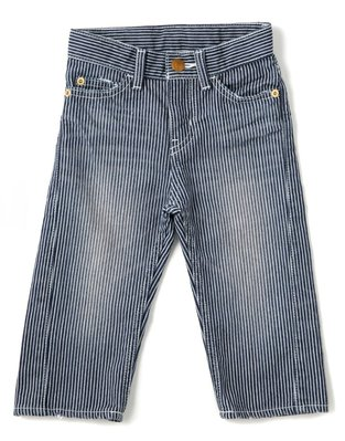 日本DADWAY條紋牛仔褲-80cm & 90cm clearance sale