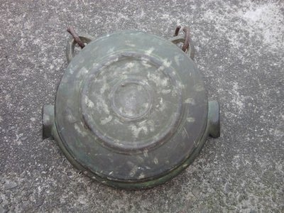 【三義 { 九怪古美術 } 日本鐵壺專賣店】日本--銅器--江戶時期--銅鐘