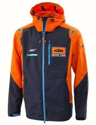 KTM PowerWear Replica Team Hardshell Hooded Jacket 防摔布料 羅西小舖