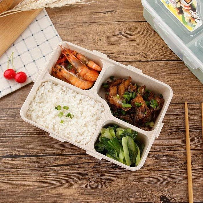 便當盒分格冰箱食品保鮮盒長方形微波爐學生餐盒成人飯盒
