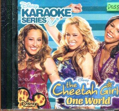 *還有唱片四館* KARAOKE SERIES THE CHEETAH GIRLS 二手 D0550(封面底破)