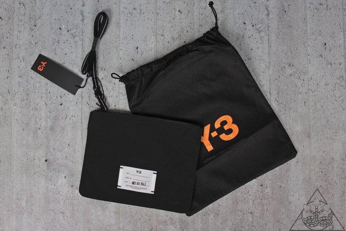 【HYDRA】19 Y-3 Logo Clutch Bag 手拿包 側背 小包 尼龍 挎包【DZ0800】