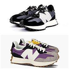 【G CORNER】New Balance 327 休閒慢跑鞋 台灣公司貨 女 WS327SFC黑 WS327CQA紫