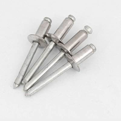 桃子的店#304不銹鋼抽芯拉鉚釘扁圓頭裝潢拉卯釘抽芯柳釘M3.2M4M4.8M5M6.4#規格不同價錢不同T