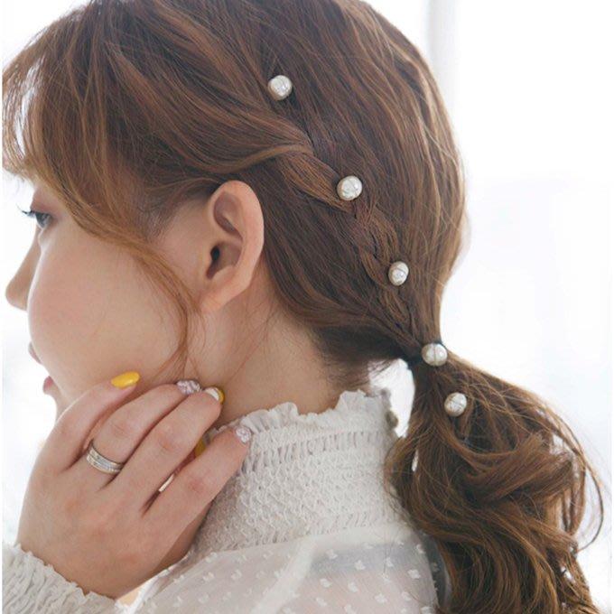 日韓版串珠隱形發夾邊夾韓國氣質淑女成人清新優雅頭飾發飾品BB夾