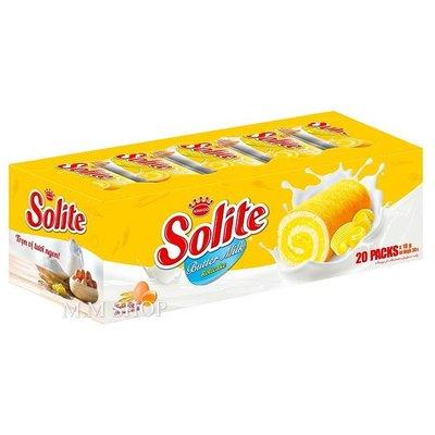 【圓圓商店】越南🇻🇳 SOLITE 奶油瑞士捲  小蛋糕 18g*20入/盒