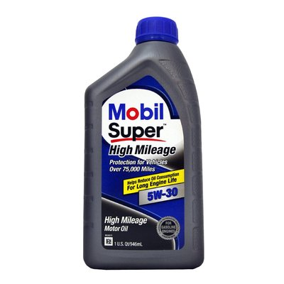 【易油網】MOBIL SUPER HIGH MILEAGE 5W30 機油 高里程 高保護