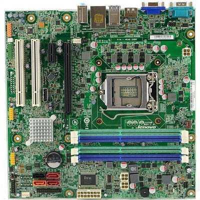 聯想IS7XM主機板、Q75/Q77晶片組【M8400T M92/M92P主機適用】通吃1155腳位CPU、USB3.0