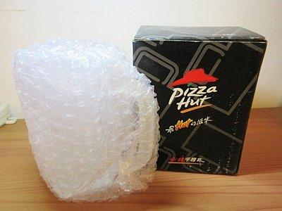 【搬家清庫存】必勝客 Pizza Hut 千禧紀念杯,玻璃噴砂杯,285c.c.,全新未使用,聖誕節交換禮物、生日禮物