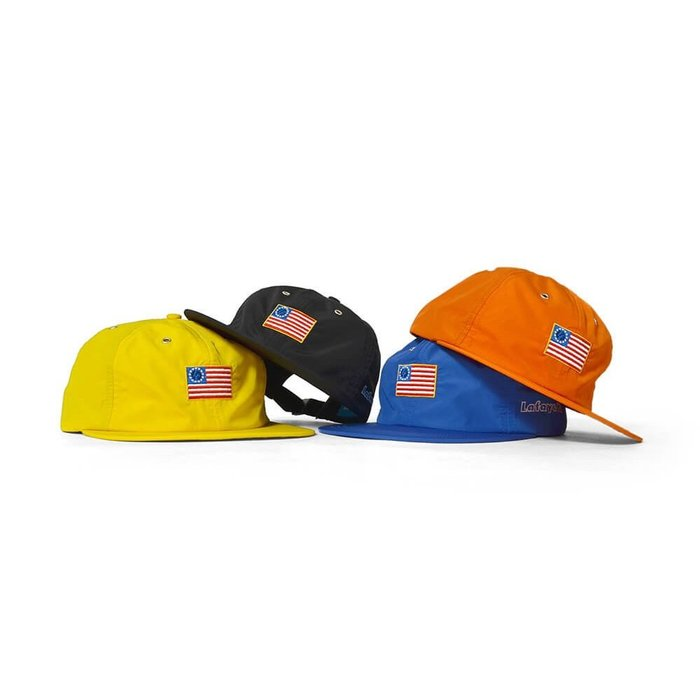 { POISON } LAFAYETTE OLD GLORY NYLON CAP 十三星國旗刺繡 尼龍棒球帽