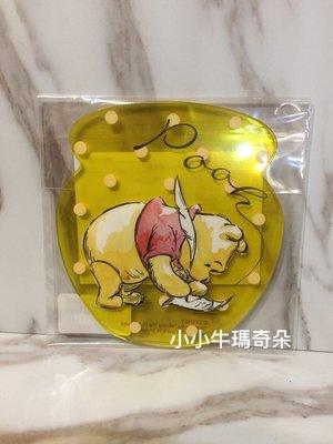 ~小小牛瑪奇朵2~Afternoon Tea & Disney迪士尼園區限定聯名商品小熊維尼 蜂蜜罐造型杯墊