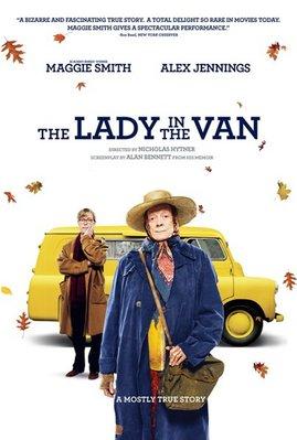 【藍光電影】BD50-2D 住貨車的女士 貨車裡的女人/意外心房客 The Lady in the Van 2015 104-037