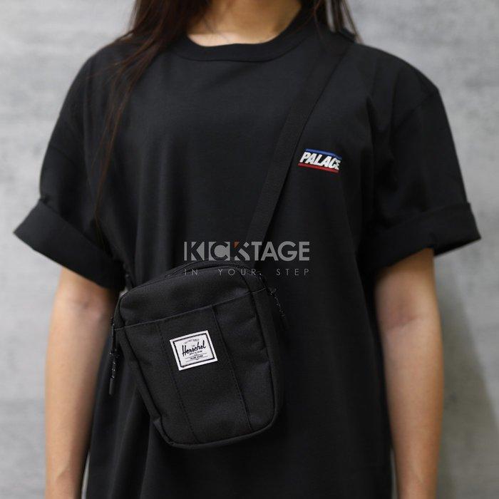 KS▸Herschel Supply Co Cruz Bag黑色 側背 鑰匙夾 隨身小包 夾層【10510-00001】