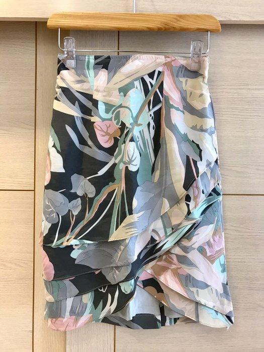 百貨專櫃 設計師品牌 Jiarjia 高腰波浪短裙