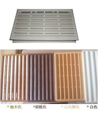 ((小五金‧大世界))PVC塑鋼門通風百葉孔 通風片 透氣孔 (浴室門) 37.8*23CM 台中市