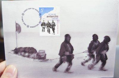 (全新)澳洲2001年-明信片+(郵票)首日