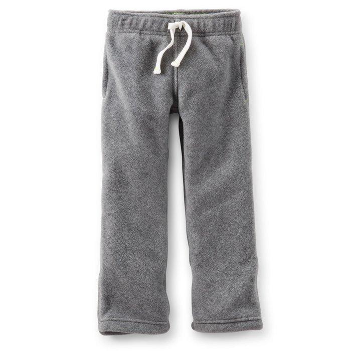 【Nichole's歐美進口優質童裝】Carter's 中性保暖厚款抽繩刷毛長褲 *Old Navy/OshKosh