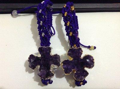 天然紫水晶手錬 ~ 金璽珠寶 - [Kingscher]