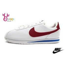NIKE阿甘鞋 現貨 正版 原廠配色 Cortez Basic SL (GS)女鞋 大童鞋N7176#白紅