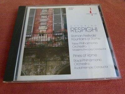 CHESKY銘盤 RESPIGHI/Roman Festivals/Fountains of Roman..CD 18