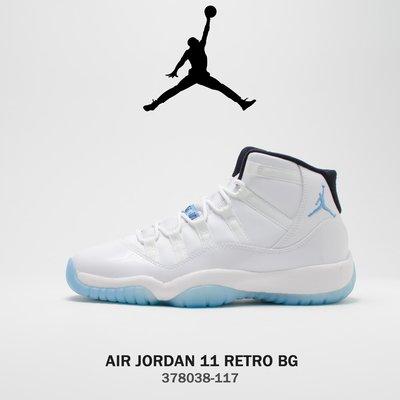 AIR JORDAN 11 RETRO 傳奇藍 378038-117 女鞋 LEGEND BLUE 大童 GS 公司貨 台北市