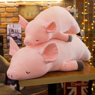 趴趴豬 豬娃娃 超柔軟 50cm 小豬...