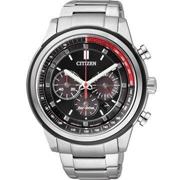 CITIZEN Eco-Drive 征服極速計時光動能腕錶 (CA4034-50F)