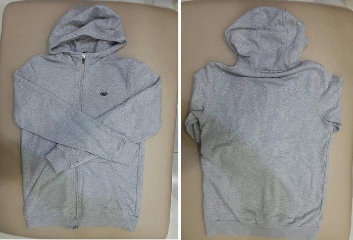 Nike 黑色 立領風衣 防潑水 外套 + 灰色 厚棉 帽T 兩件式3種穿搭