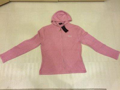 BCBG桃紅色 針織衫外套 SIZE~~~L