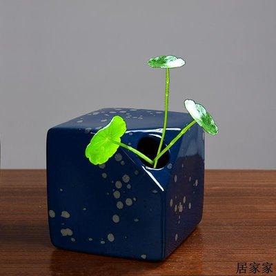 花盆 花器 陶瓷擺飾 簡約現代陶瓷花瓶創意個性干花插花器小清新居家客廳餐桌粗陶禪意