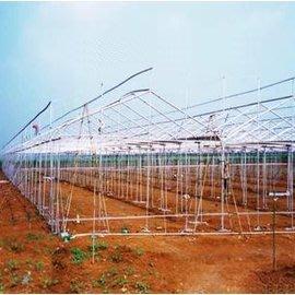 【單體溫室大棚-GP-622-0630】溫室大棚骨架  寬6米長30米間距1米 肩高1.5米頂高2.5米-5101005