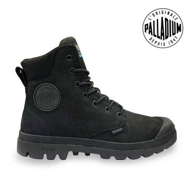 =CodE= PALLADIUM PAMPA LITE+ CUFF WP+ 防水輕量軍靴(全黑) 76118-008 女