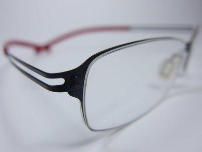 【信義計劃】全新真品 Eyelet 眼鏡 EL29 鏤空金屬框 一體成型 超輕超越 Silhouette 詩樂