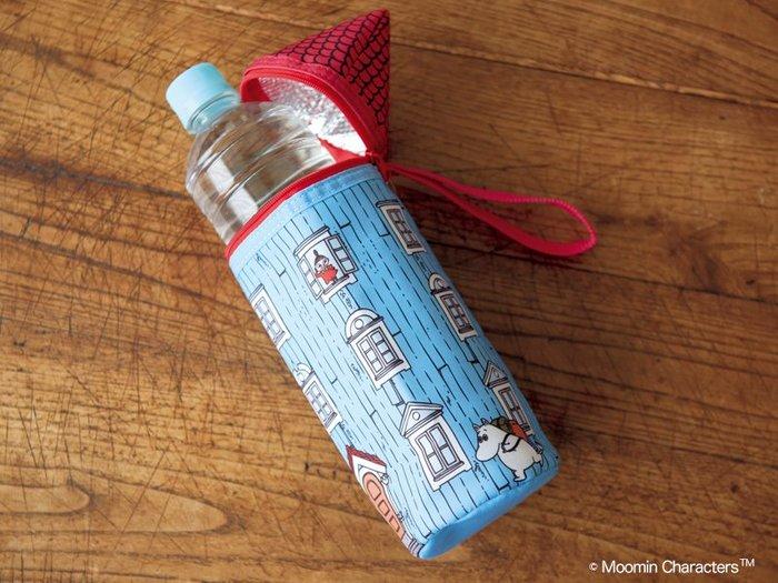 ☆Juicy☆日本雜誌附贈 MOOMIN 嚕嚕米 亞美 小不點 保冷袋 保溫包 杯套 媽媽包 奶瓶包 水壺套 2280
