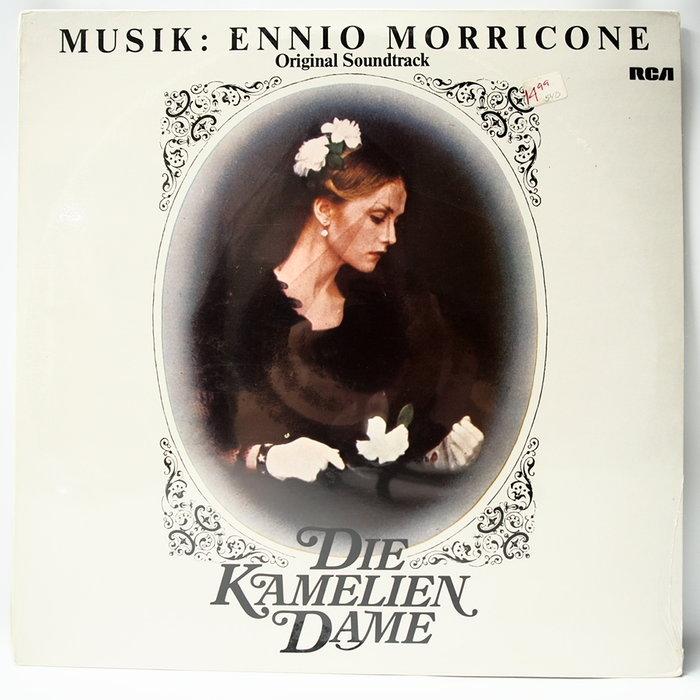 電影配樂 Die Kamelien Dame【茶花女】德國首版 1981 Ennio Morricone