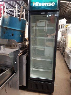 【泰裕二手貨餐具行】中古500L冷藏冰箱9成新(另有工作台攤車水槽)