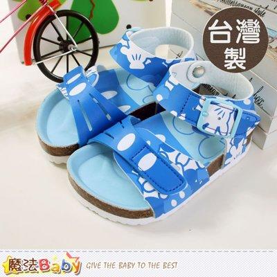 台灣製迪士尼米奇兒童涼鞋 百貨專櫃款 魔法Baby sh5519