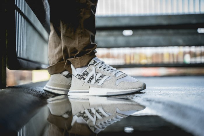 Adidas Originals ZX 500 RM BD7873 機能 經典 蛇紋 米灰 休閒鞋
